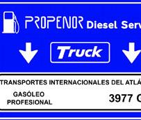Propenor estrena su tarjeta de gasóleo 'Low-cost' que ofrece descuentos en carburantes a los profesionales del transporte
