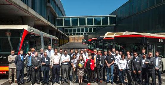 TMB, principal empresa del transporte público de Barcelona, adquiere cinco autobuses híbridos de Iveco