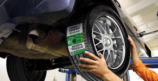 Insa Turbo presenta la nueva Ecoetiqueta que llevarán sus neumáticos reciclados