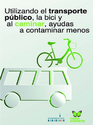 El Ayuntamiento de Lucena (Córdoba) anima a sus vecinos a utilizar el autobús en la celebración de su Semana Verde