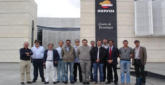 Los alumnos del Master en Dirección y Gestión de Empresas de Transporte y Logística de CETM visitan el CTR de Repsol