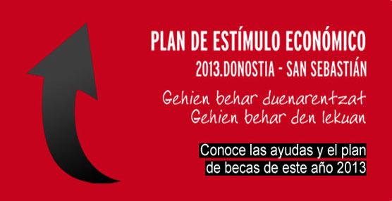 Fomento de San Sebastián elabora el Plan de Estímulo Económico 2013 para incentivar la actividad empresarial