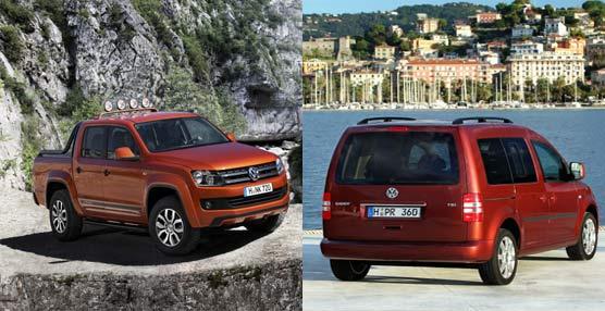 Volkswagen lanza sus nuevos comerciales ligeros Amarok Canyon y Cross Caddy