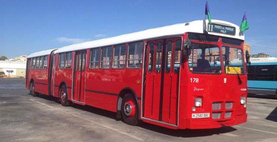 Una asociación malagueña dedicada a la restauración de autobuses y tranvías recupera un Pegaso de los años setenta