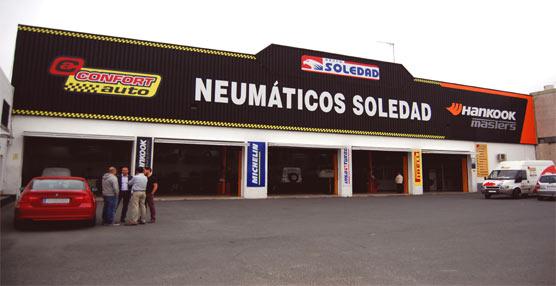 Las empresas asociadas a Emcofeantran se beneficiarán de tarifas 'exclusivas' en Neumáticos Soledad