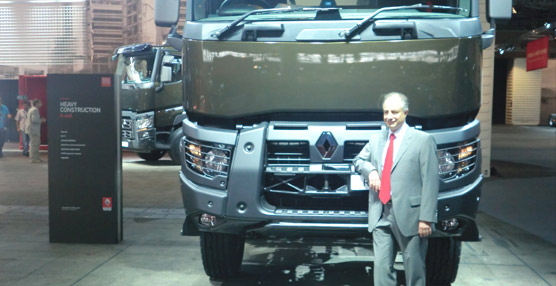 Renault Trucks presenta en multitud toda su gama de producto, con cuatro nuevas gamas