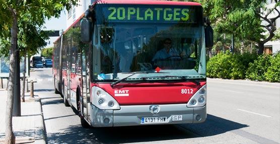 EMT Valencia invertirá 3,9 millones de euros en su servicio especial de verano para el transporte a las playas de la ciudad
