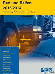 La empresa de recambios Europart publica su nuevo catálogo de ruedas y neumáticos para el periodo 2013/2014