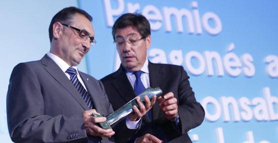 General Motors España recibe el Premio Aragonés a la Responsabilidad Social Empresarial