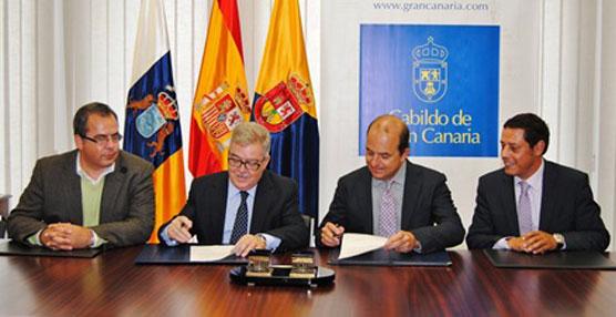 Gran Canaria y la Zona Franca promocionan la isla como plataforma logística para empresas locales e internacionales