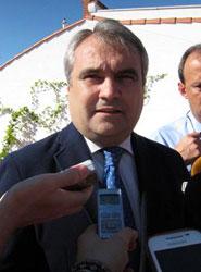 Fragoso dice que la declaración de la Plataforma Logística como zona franca favorecerá la llegada de empresas a Badajoz