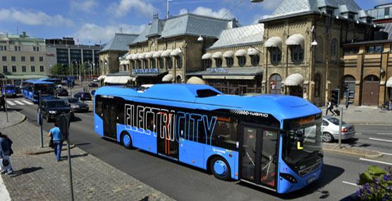 Volvo pondrá en marcha un sistema de transporte público 'cero ruidos y cero emisiones' en Gotemburgo