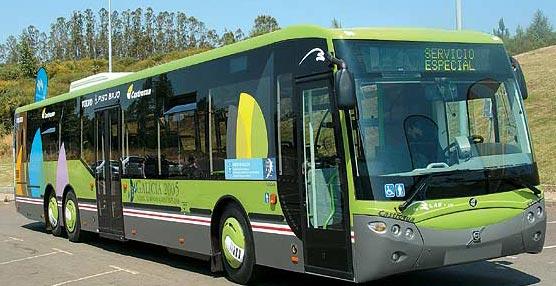 Un autobús del operador de Arriva, DBLAS.
