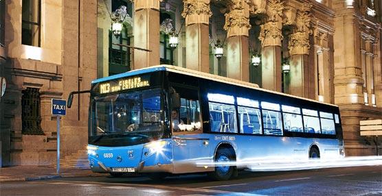 EMT Madrid reforzará las líneas nocturnas N13 y N14 con motivo de la celebración del Día de la Música