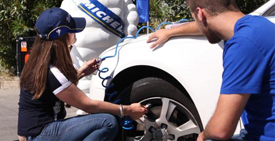 Michelín arranca su campaña de Revisión de Neumáticos 2013 en las carreteras de España y Portugal