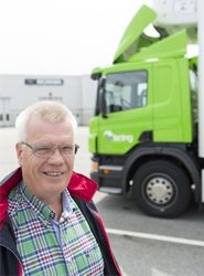 Scania entrega a una empresa logística nórdica el primer camión del mundo Euro 6 impulsado por biogas