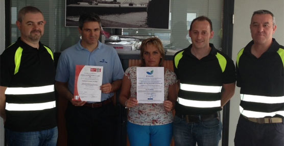 La Terminal de Contenedores de Gijón recibe la certificación EMAS que reconoce 'su compromiso medioambiental'