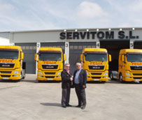 El Grupo Félix celebra 30 años de relación con MAN adquiriendo cuatro tractoras TGX EfficientLine