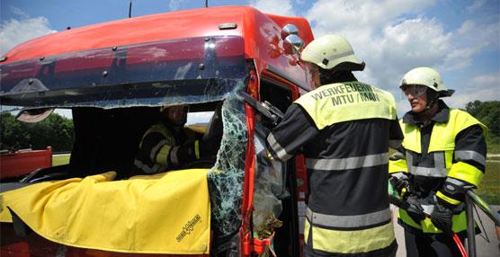 MANpublica sus guías de rescate en camiones y autobuses destinadas a la formación de bomberos