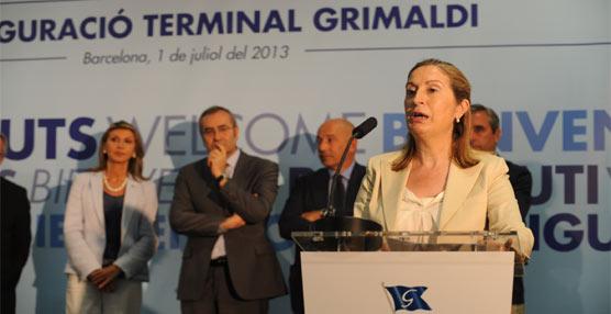 Grupo Grimaldi inaugura una nueva terminal en el Puerto de Barcelona 'consolidando su compromiso con este enclave'