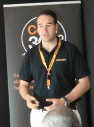 Javier Iglesias, durante su intervención.