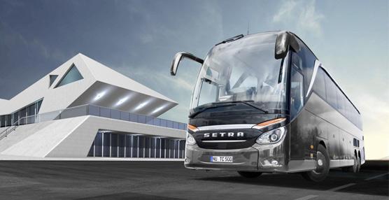 Diseño y eficiencia son los distintivos que Setra quierepara su TopClass 500
