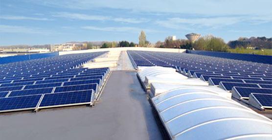 La plataforma de transporte de STEF en Bélgica, la primera del Grupo en el país equipada con paneles solares