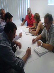 Los trabajadores del transporte de Albacete firman el nuevo convenio para regular el Sector en la provincia