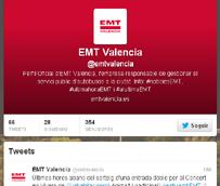 EMT Valencia se inicia en las redes sociales para conectar