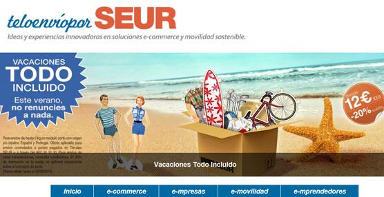 SEUR lanza su campaña de verano 'Vacaciones Todo Incluido' para responder a la creciente demanda de envíos de equipaje