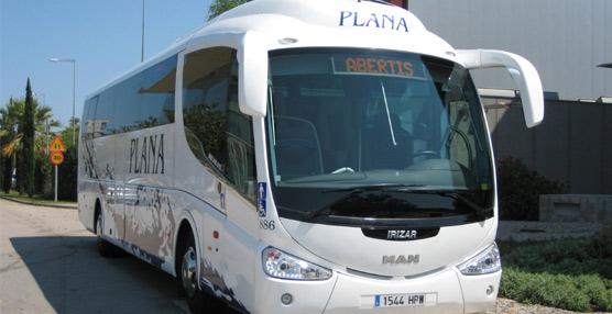 La empresa Plana aumenta su flota con la incorporación de 15 nuevosautocares MAN en los dos últimos meses