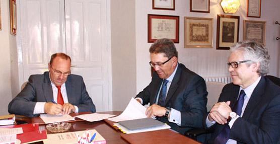 La Cámara de Comercio de Ávila y la Estación de Autobuses firman el acuerdo de gestión de la nueva terminal