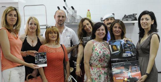 DBLAS dona 17.600 euros recaudados con la venta de su calendario solidario a dos comedores sociales