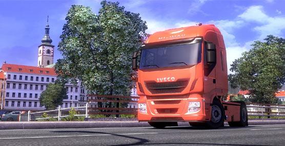 El Stralis Hi-Way de Iveco, protagonista del videojuego Euro Truck Simulator 2