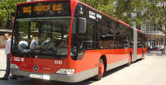 Las líneas 9 y 10 de EMT Valencia modifican su recorrido habitual por las obras realizadasen la calle Maestro Sosa