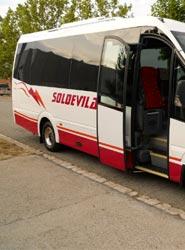 La compañía andorrana Viatges Soldevila amplia su flota y estrena una unida Spica de Car-bus.net de 21 plazas