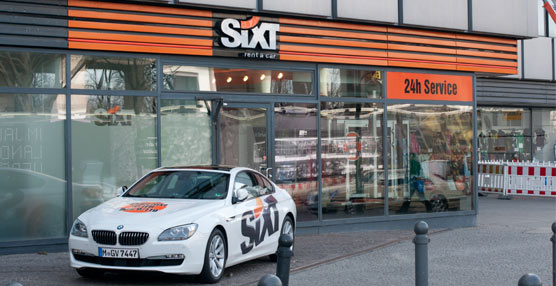 Sixt apuesta por el alquiler de vehículos en Galicia y abre una oficina en Santiago de Compostela