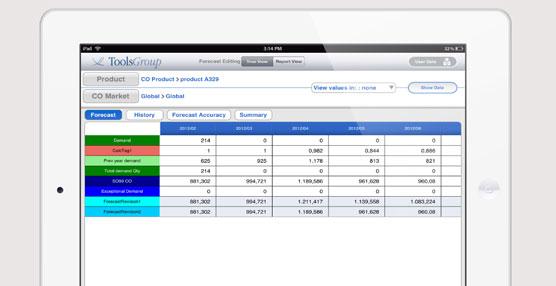 ToolsGroup lanza la versión para iPad de su aplicación Demand Collaboration Hub (DHC)