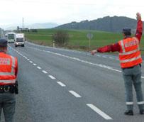 Esta semana tiene lugar en Navarra una campaña especial de control y vigilancia de camiones, furgonetas y autobuses
