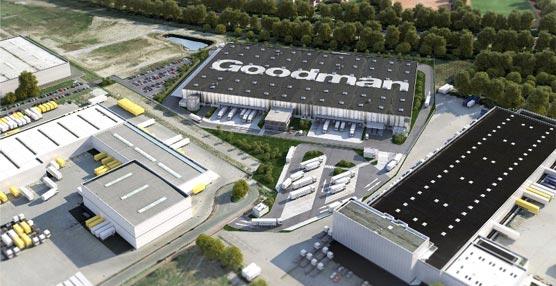 Goodman inicia la construcción de un hub de exportación para Volkswagen de 24.000 metros cuadrados