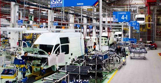 La producción de vehículos industriales en España crece un 7,54% durante el pasado mes de junio