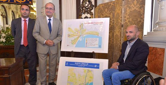 El Ayuntamiento de Málaga continúa con la remodelación de la red de transporte urbano para optimizar la movilidad de los usuarios