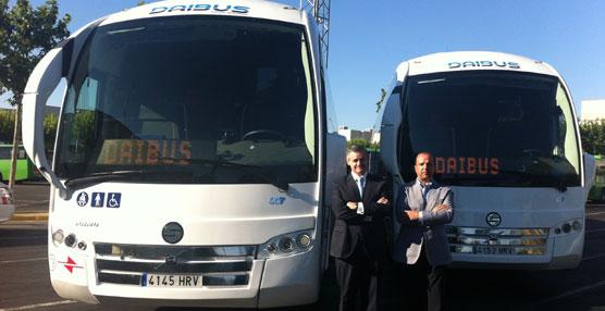 Daibus adquiere dos VolvoB13R 6X2, carrozados con el modelo SC7 de Sunsundegui de 15 metros