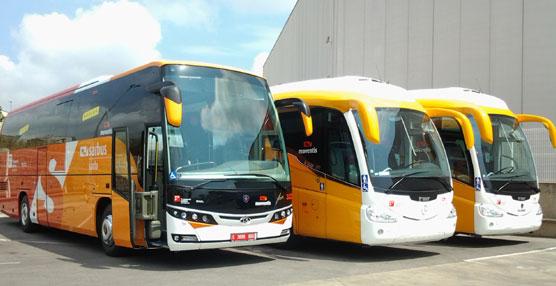 SARFA incorpora cinco nuevos buses para mejorar las conexiones en transporte público entre las comarcas gerundenses