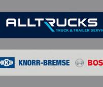 Bosch, Knorr-Bremse y ZF crean un nuevo concepto de taller multimarca 'Alltrucks' para vehículos industriales