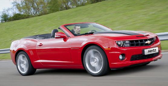 Hertz incorpora, a su colección Prestige, el Chevrolet Camaro, disponible en Málaga y Marbella