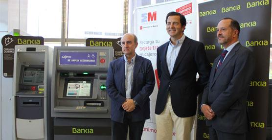 La Tarjeta de Transporte Público de la Comunidad de Madrid ya puede ser recargada en 200 cajeros automáticos