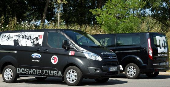 Ford Tourneo Custom colabora con las estrellas del 'skate' y el 'snowboard' de DC Shoes Europa