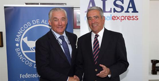 Alsa y la Federación de Bancos de Alimentos colaboran en la iniciativa solidaria 'Kilos y kilómetros'