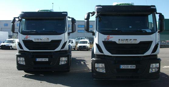 Inturasa Pérez Rumbao entrega los cuatro primeros vehículos Iveco Euro 6 matriculados en España a Galicia Direct